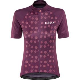 Giro Chrono Sport Jersey Dame dusty purple palm burst